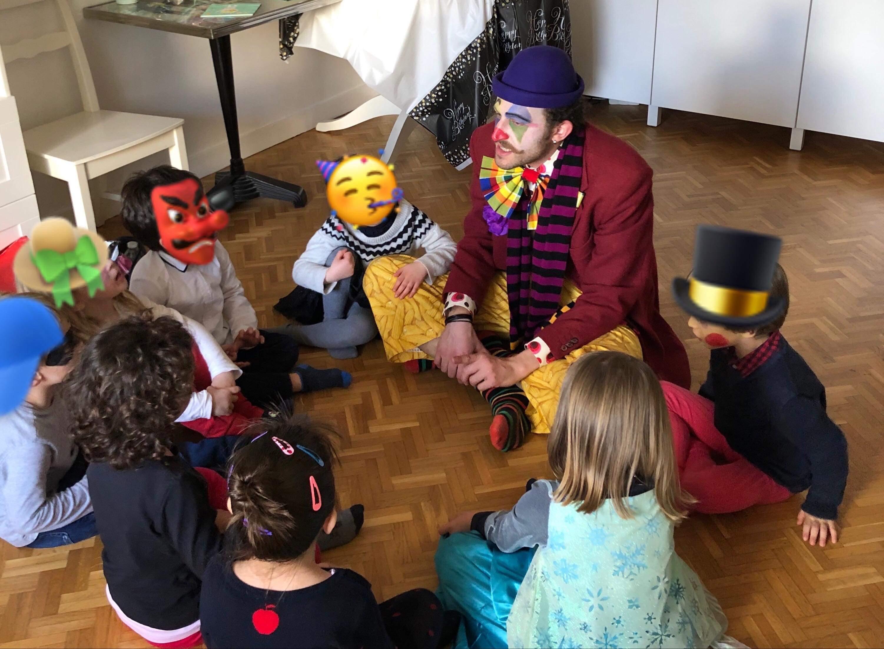 animation anniversaire clown