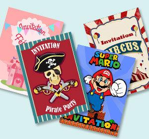Imprimez vos invitations !