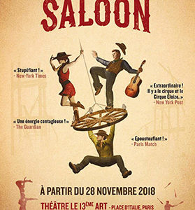 Spectacle « Saloon » Cirque Éloize