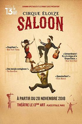Spectacle «Saloon» Cirque Éloize