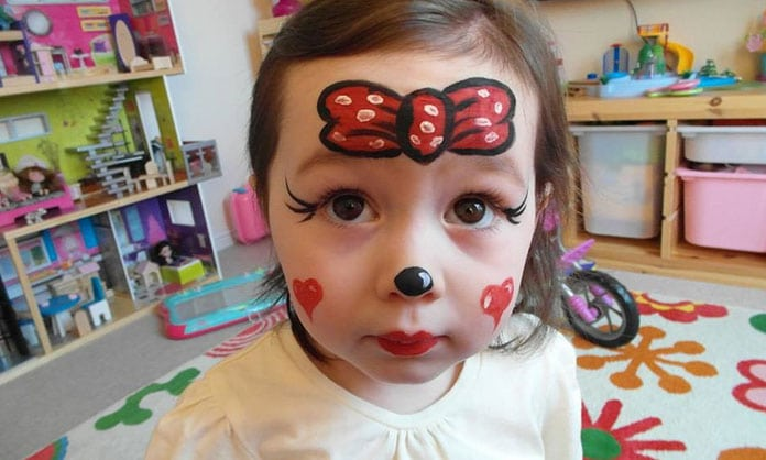 maquillage enfants minnie festimini