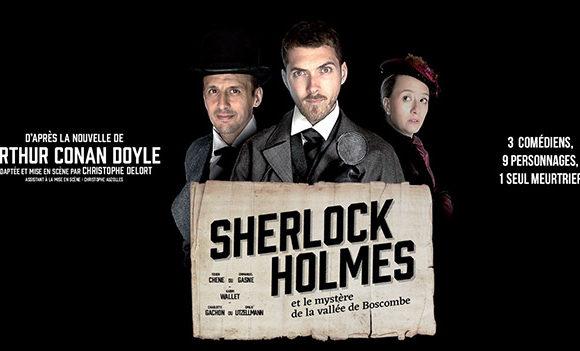 Théâtre : «Sherlock Holmes et le mystère de la vallée de Boscombe»