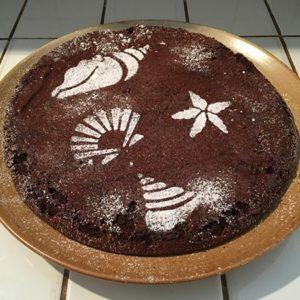 Recette gâteau chocolat sans beurre sans sucre