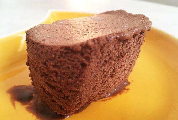 Mousse vegan au chocolat glacée sans œufs