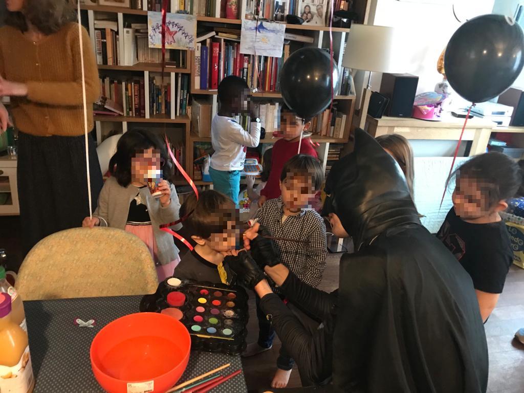 animation anniversaire Batman