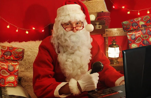 J'appelle le Père Noël en vidéo