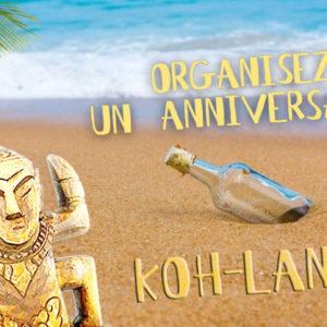 10 idées d'activités pour organiser un anniversaire Koh-Lanta